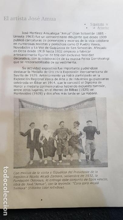 Antigüedades: FANAL PERSONAJES VASCOS - Foto 24 - 111726443