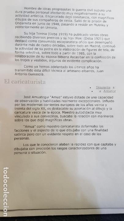 Antigüedades: FANAL PERSONAJES VASCOS - Foto 26 - 111726443
