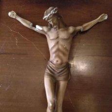 Antigüedades: ANTIGUO CRISTO CRUCIFIJO PARA RESTAURAR. Lote 133157222