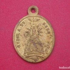 Antigüedades: MEDALLA SIGLO XIX VIRGEN DE UJUÉ - UXUE. SAN FERMÍN Y SAN FRANCISCO JAVIER. NAVARRA.. Lote 133496426