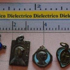 Antigüedades: LOTE DE 6 MEDALLAS MEDALLITAS RELIGIOSAS. LOURDES, INMACULADA, SANTA TERESA.... Lote 133499318