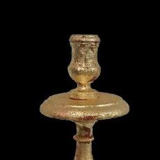 Antiques - antiguo hachero de pino Aragonés. Siglo XIX. 63 cm de alto, - 121675063