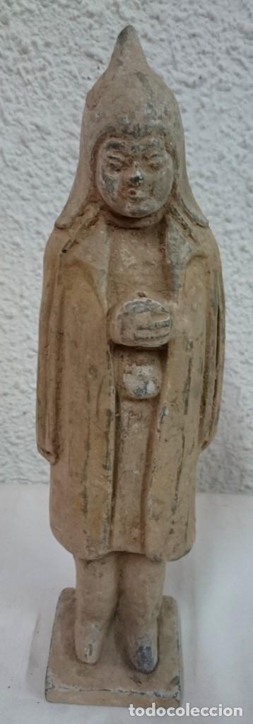 Antigüedades: Antigua terracota china , dinastía Tang (618DC-907DC). Leer - Foto 2 - 132659154