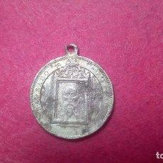 Antigüedades: MEDALLA SANTO ROSTRO JAEN ALUMINIO. Lote 133621506