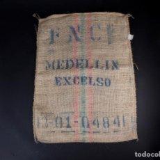 Antigüedades: CAFE MEDELLIN EXCELSO. SACO DE ARPILLERA. Lote 133628858
