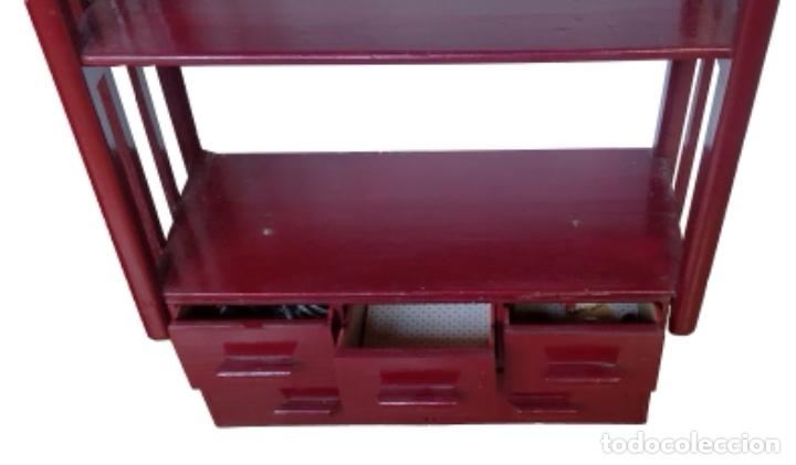 Antigüedades: librería-estanteria-auxiliar, mucha capacidad - Foto 2 - 133629054