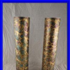 Antigüedades: PRECIOSA PAREJA DE JARRONES DE ROSENTHAL PERFECTO ESTADO . Lote 133647414