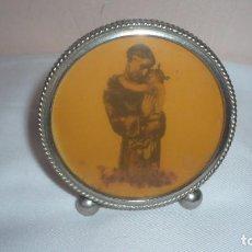 Antigüedades: SAN ANTONIO DE PADUA EN MARCO REDONDO. Lote 133656890