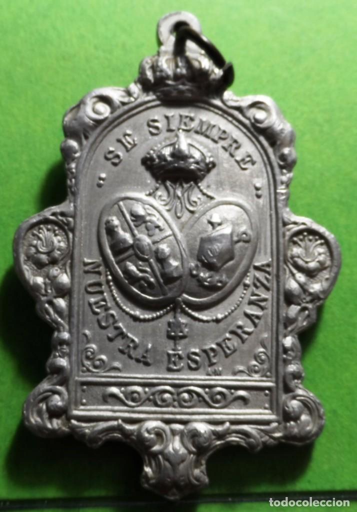 Antigüedades: MEDALLA DE ESPERANZA (MACARENA) SEVILLA - Foto 2 - 133659254
