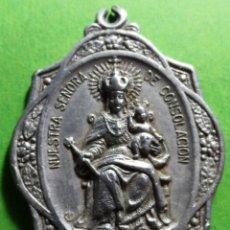 Antigüedades: MEDALLA NUESTRA SEÑORA DE CONSOLACION, CARTAYA (HUELVA). Lote 133660514