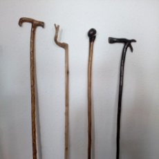 Antigüedades: BASTONES PASTORILES. Lote 133712194