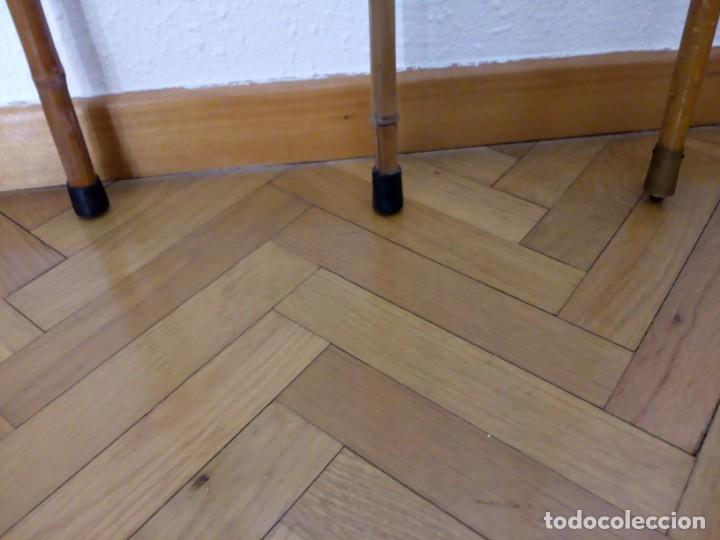 Antiquitäten: 2 bastones de bambú y una cachaba de junco - Foto 3 - 133717954