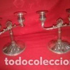 Antigüedades: CANDELABROS. Lote 133718778