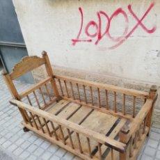 Antigüedades: ANTIGUA CUNA. Lote 133725909