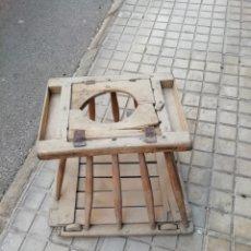 Antigüedades: ANTIGUO TACA TACA DE NIÑO. Lote 133726339