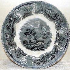 Antigüedades: PLATO , CARTAGENA, LA AMISTAD, PERFECTO ESTADO SIN PELOS NI ROTURAS, SALIDA 1 EURO. Lote 133737530