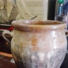 Antigüedades: PEQUEÑA ORZA ANTIGUA. Lote 133748506