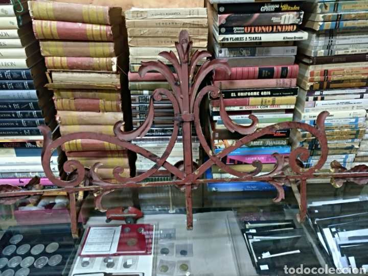 Antigüedades: Perchero modernista de forja - Foto 3 - 133755509