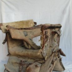 Antigüedades: ANTIGUA SILLA DE MONTAR A CABALLO DE MUJER. S. XVIII.. Lote 133770930