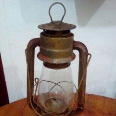 Antigüedades: ANTIGUO CANDIL FAROL MARMEN. Lote 133776005