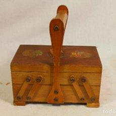 Antigüedades: COSTURERO DE 3 CAJONES. Lote 161970710