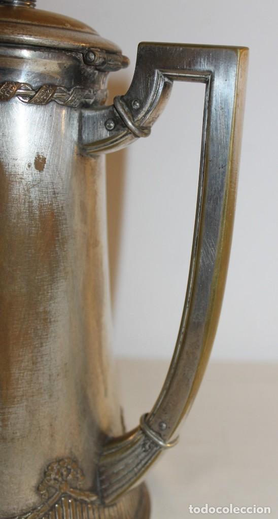 Antigüedades: JUEGO DE CAFÉ O TÉ ALEMÁN ART NOUVEAU JUGENDSTIL SELLO WMF - PRINCIPIOS DEL SIGLO XX - Foto 11 - 133810374
