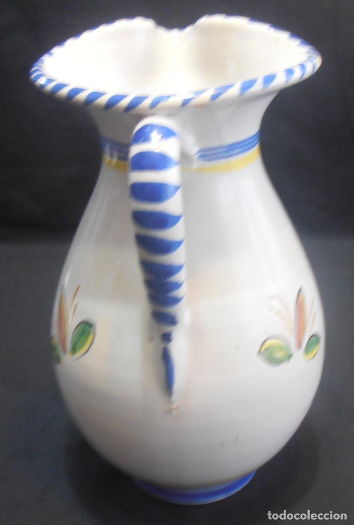 Antigüedades: JARRA DE TALAVERA CON EL ESCUDO DE TOLEDO - Foto 3 - 133864790