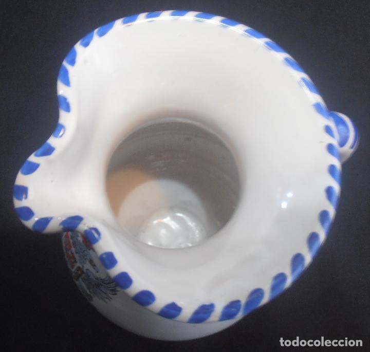 Antigüedades: JARRA DE TALAVERA CON EL ESCUDO DE TOLEDO - Foto 4 - 133864790