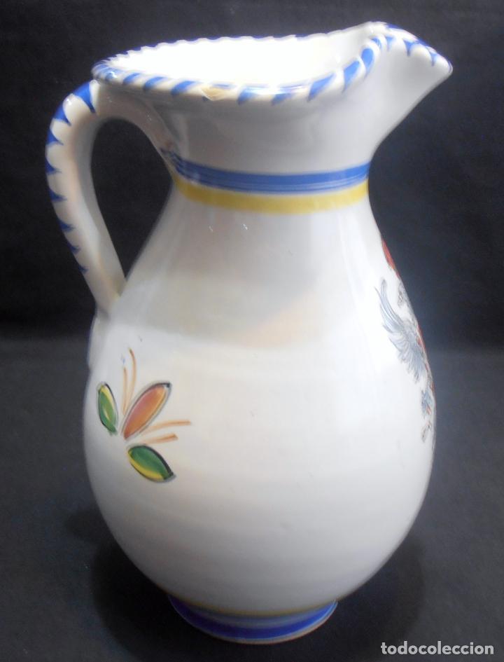 Antigüedades: JARRA DE TALAVERA CON EL ESCUDO DE TOLEDO - Foto 5 - 133864790