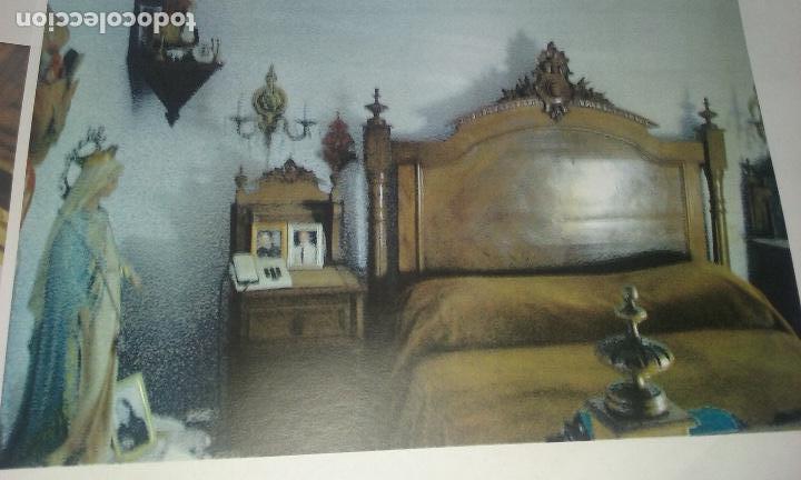 Antigüedades: Cama siglo XIX completa con cabecero, piecero largueros y somier - Foto 4 - 133867070