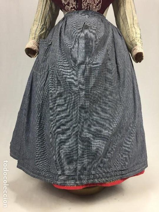 Antigüedades: Antiguo delantal de algodón - Foto 6 - 133894454