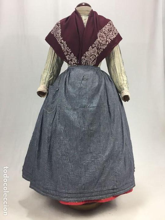 Antigüedades: Antiguo delantal de algodón - Foto 7 - 133894454