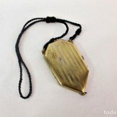 Antigüedades: BOLSITO PASTILLERO COMPARTIMENTADO POLVERA PPS S XX. Lote 133896770