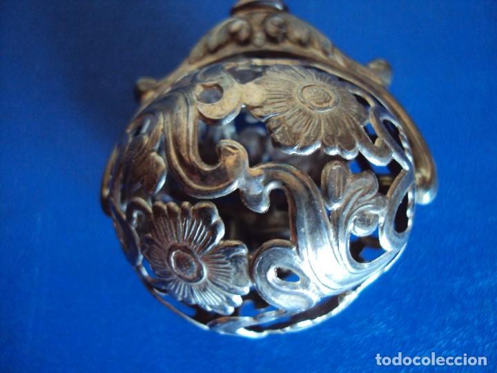 Antigüedades: (ANT-180924)Antiguo sonajero en plata de ley con contrastes buena conservación - ALEJANDRO - Foto 5 - 133905430