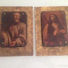 Antigüedades: TABLAS DE SANTOS, CUADROS . Lote 133910602
