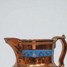 Antigüedades: JARRA DE REFLEJOS. BRISTOL. GRANDE. SIGLO XIX. Lote 133912646