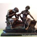 Antigüedades: ANTIGÜA ESCULTURA DE BRONCE CLODION. Lote 133954698