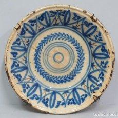 Antigüedades: LEBRILLO DE CERAMICA DE MANISES. SIGLO XIX. Lote 133964598