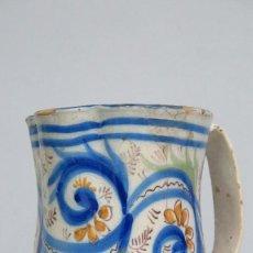 Antigüedades: JARRA DE CERAMICA DE MANISES. SIGLO XIX. Lote 133964678