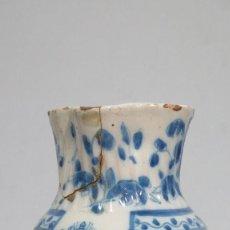 Antigüedades: PEQUEÑA JARRA DE CERAMICA DE TALAVERA. PPIO. SIGLO XX. Lote 133964934