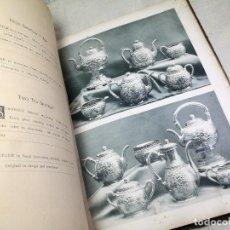 Antigüedades: CATALOGO PLATERO GORHAM MFG & CO NEW YORK 1889 ORIGINAL-PLATA. Lote 133965166