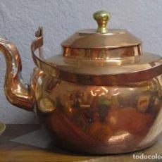 Antigüedades: ANTIGUO HERVIDOR DE COBRE. HOLANDA. SIGLO XIX. Lote 133971486