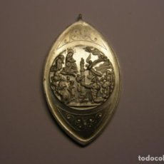Antigüedades: ANTIGUA MEDALLA RELIGIOSA DE LA VIRGEN DEL PILAR.. Lote 133984102