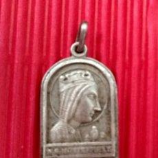 Antigüedades: MEDALLA DE PLATA MONTSERRAT. Lote 133996437