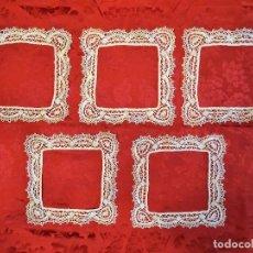 Antigüedades: ENCAJE DE BOLILLO. Lote 133996854