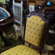 Antiquités: PRECIOSA SILLA ESTILO VICTORIANO.. Lote 134012087
