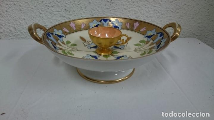 PLATO DE SAQUE. (Antigüedades - Porcelanas y Cerámicas - China)