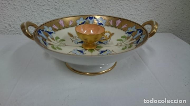 Antigüedades: plato de saque. - Foto 2 - 134037250