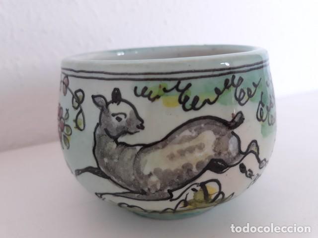 Antigüedades: plato + taza cerámica puente del arzobispo - Foto 2 - 134042586