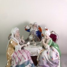 Antigüedades: FIGURA PORCELANA- FRANCIA- HANNONG- (1770-1800). Lote 134043205